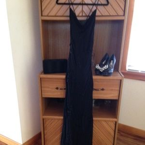 Sue Wong Nocturne Beaded Maxi Dress Size 4